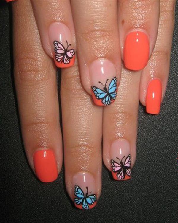butterfly nail art-31