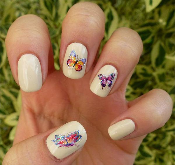butterfly nail art-32