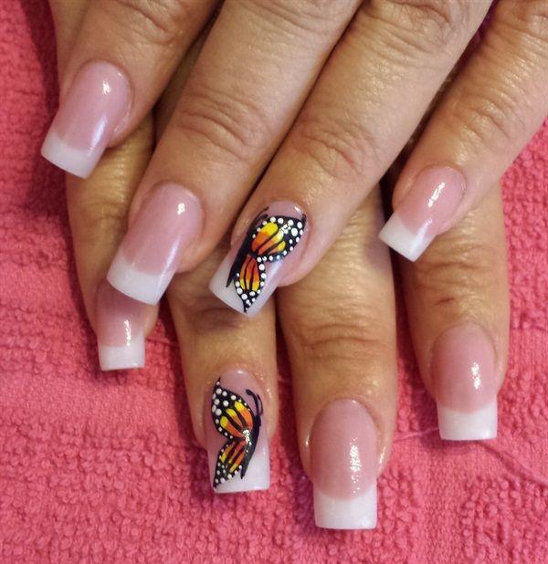 butterfly nail art-33