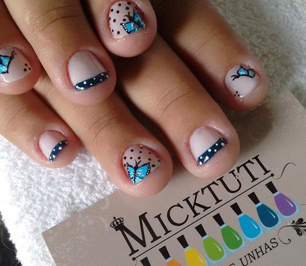 butterfly nail art-35