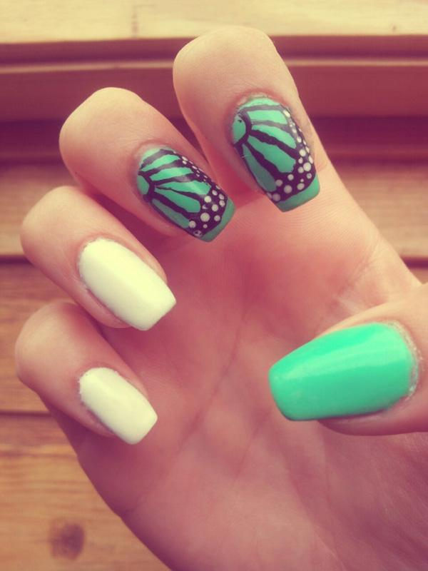 butterfly nail art-36