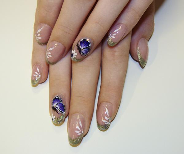 butterfly nail art-37