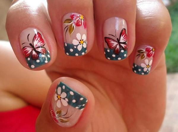 butterfly nail art-6