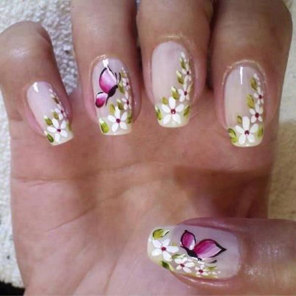 butterfly nail art-7