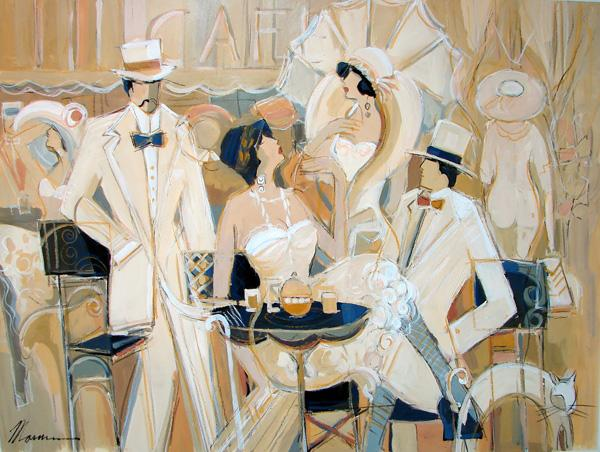 cafe blanc by Isaac Maimon