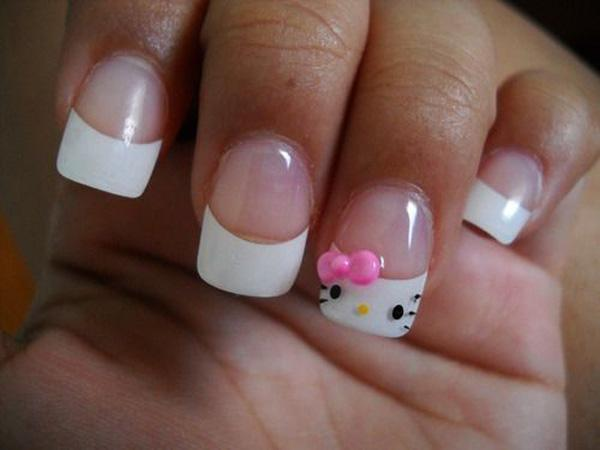 hello kitty nail-13