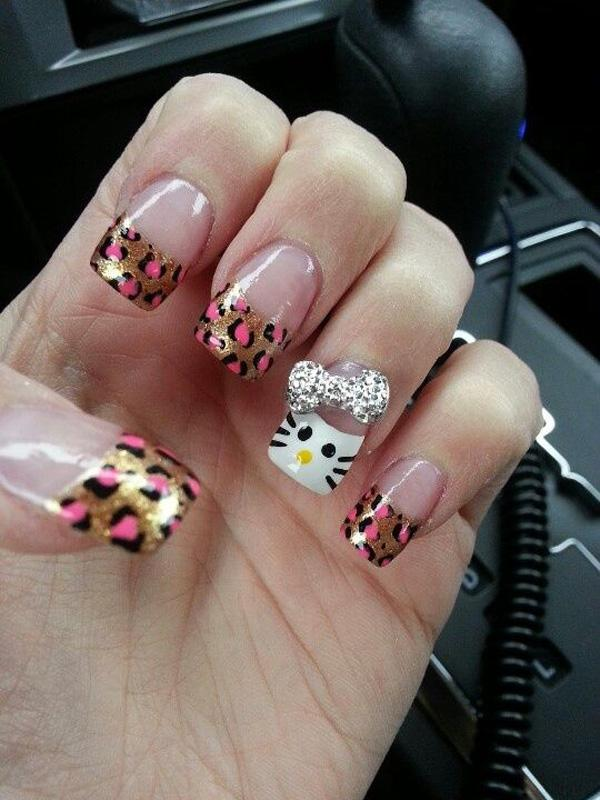 hello kitty nail-14