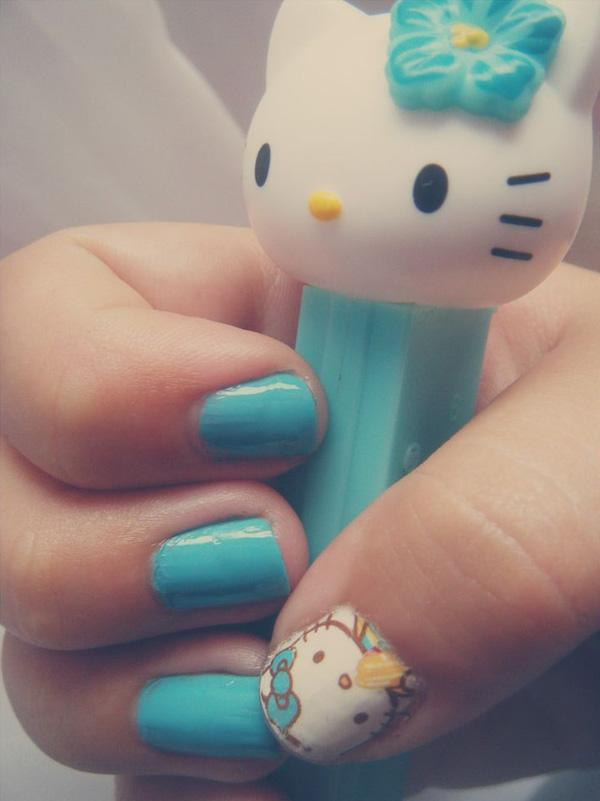 hello kitty nail-15