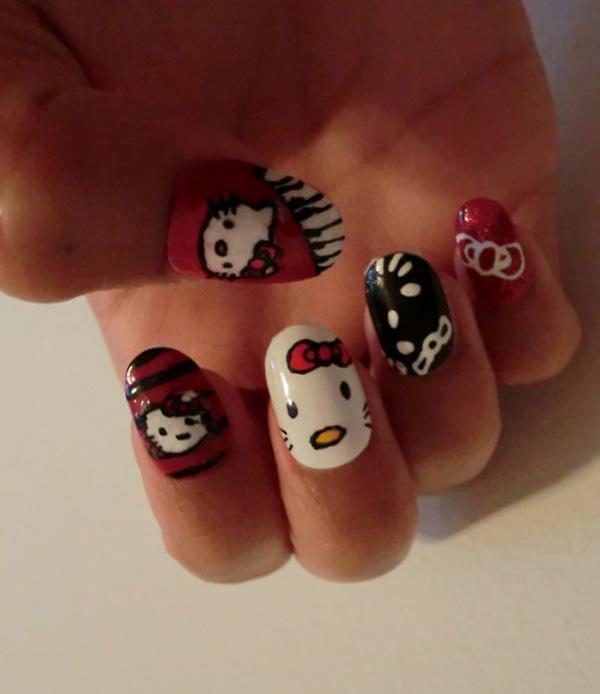 hello kitty nail-17
