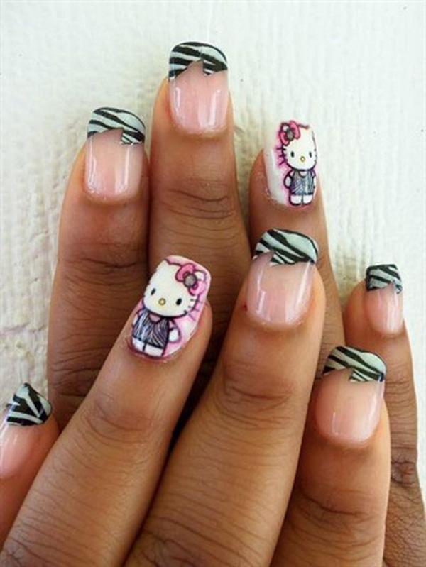 hello kitty nail-18