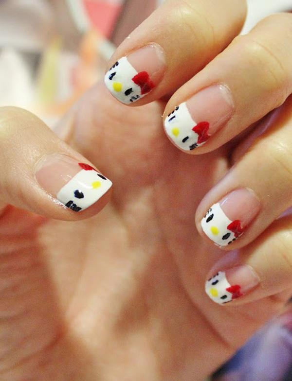 hello kitty nail-20