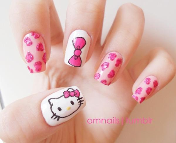 hello kitty nail-21