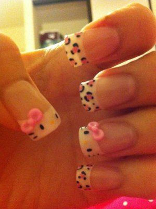 hello kitty nail-26