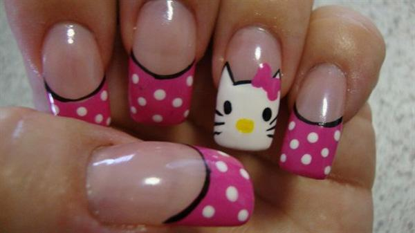 hello kitty nail-27