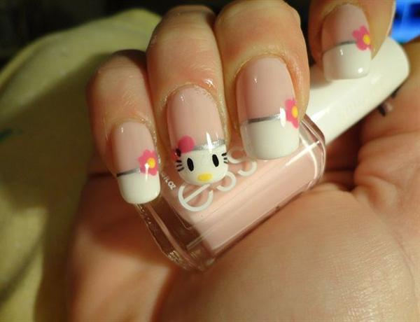 hello kitty nail-29