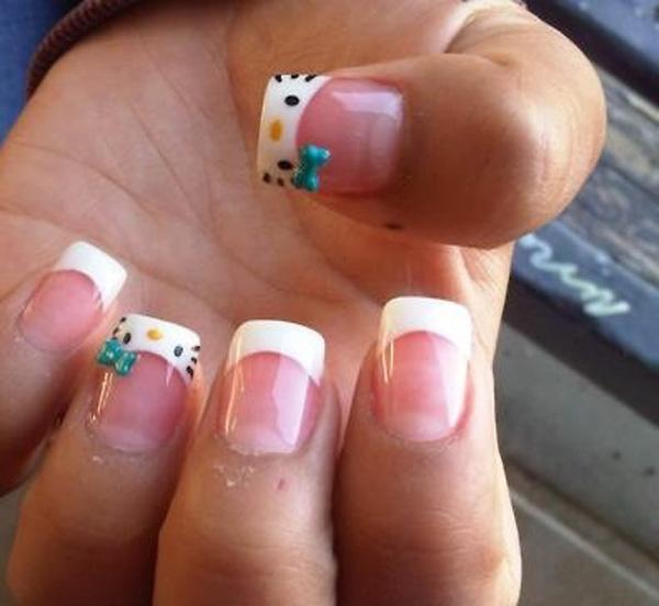 hello kitty nail-3