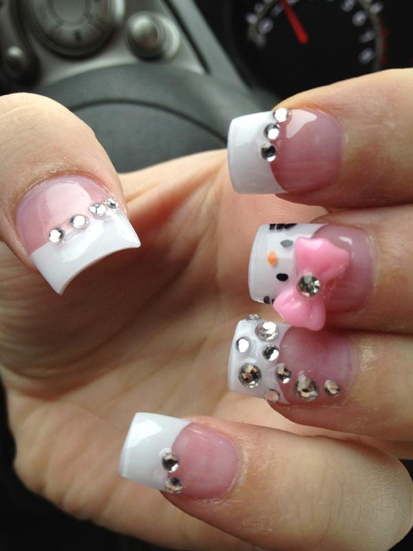 hello kitty nail-31