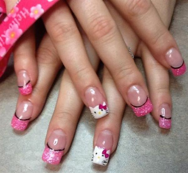hello kitty nail-32
