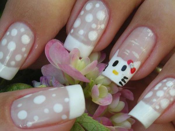 hello kitty nail-34
