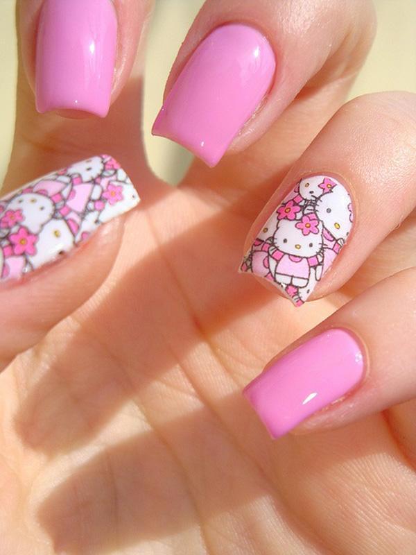 hello kitty nail-35