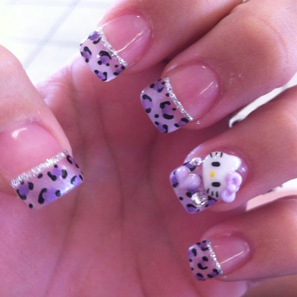hello kitty nail-36