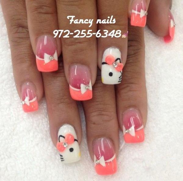 hello kitty nail-37