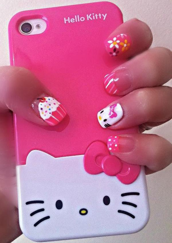 hello kitty nail-39