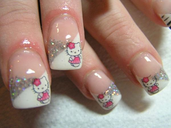 hello kitty nail-40