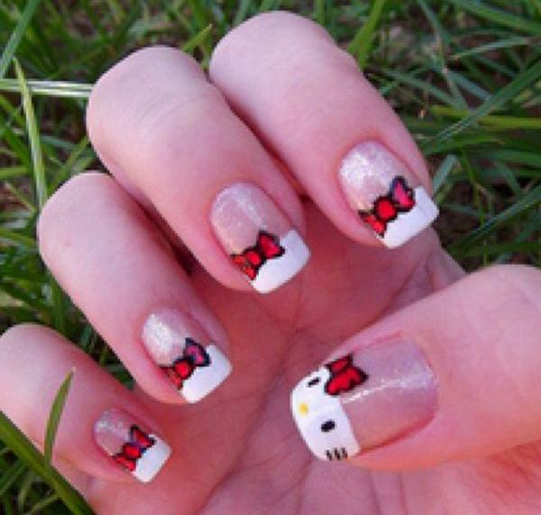hello kitty nail-41