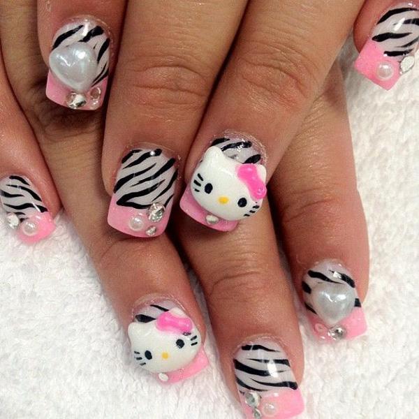 hello kitty nail-42