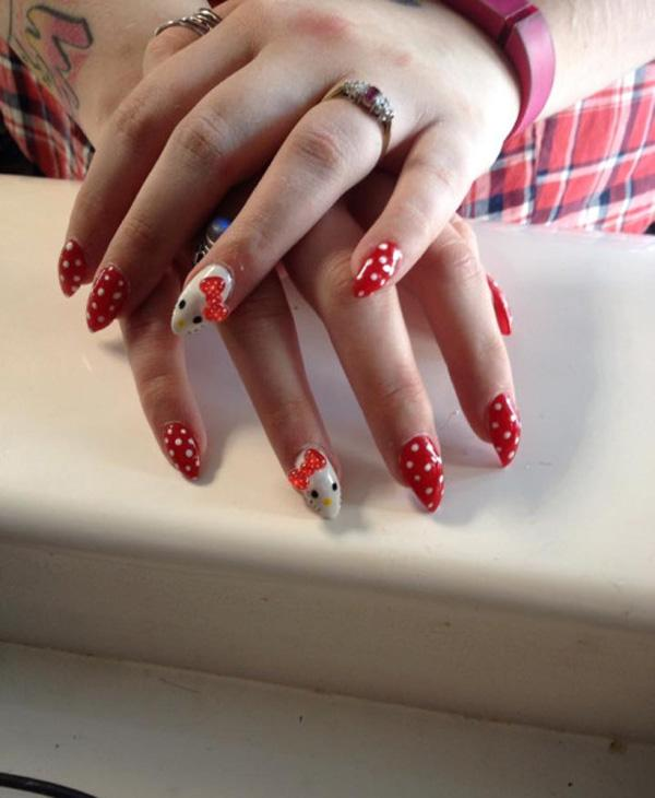 hello kitty nail-46