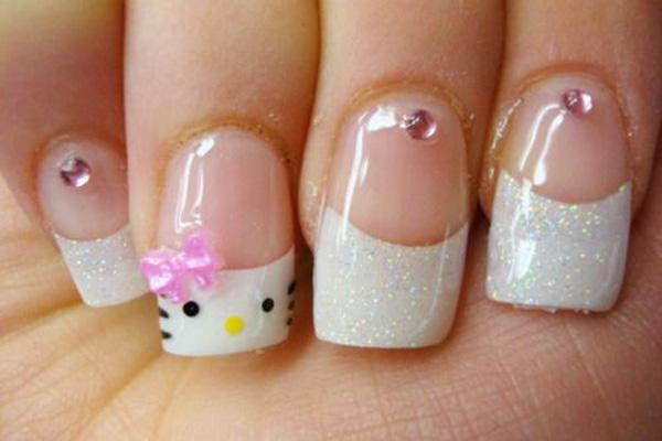 hello kitty nail-47
