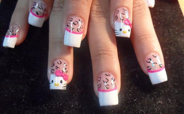 hello kitty nail-49