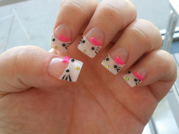 hello kitty nail-53