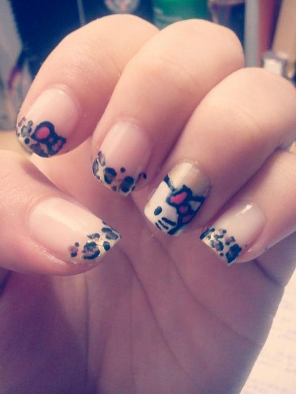 hello kitty nail-7