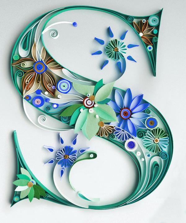 Creative Letters 35 creative diy letters in life | art and design
