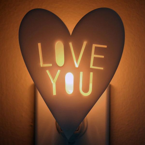 """Love You"" Night Light"