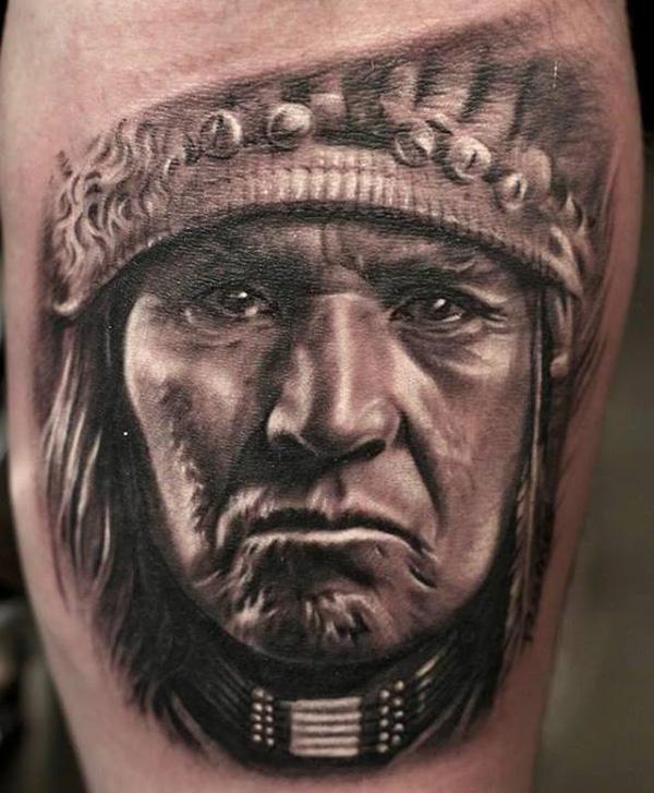 Native American Tattoo-9