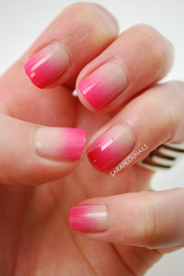 Nude to Pink Nails 2 copy