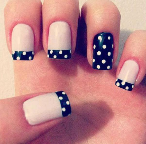 Polka Dot Nail Designs Best Nail Designs 2018