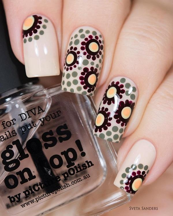 30+ Adorable Polka Dots Nail Designs <3 ... - 30+ Adorable Polka Dots Nail Designs Art And Design