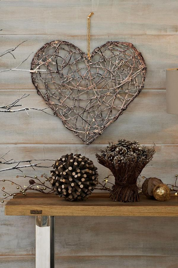 contemporary rustic Christmas from Next UK