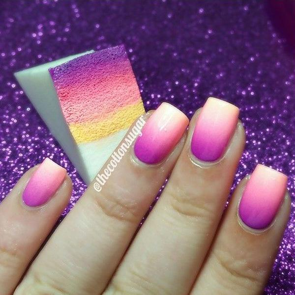 Beautiful Gradient Pink Nail Art Design Idea Fun Designs For Nails Jpg