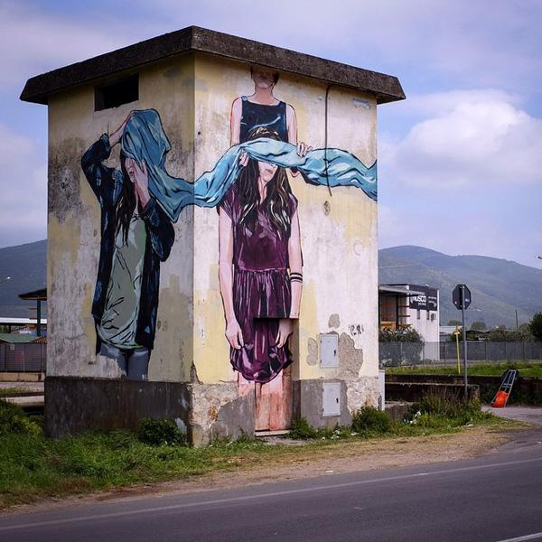 A tower in Fondi (Italy)-jana & js