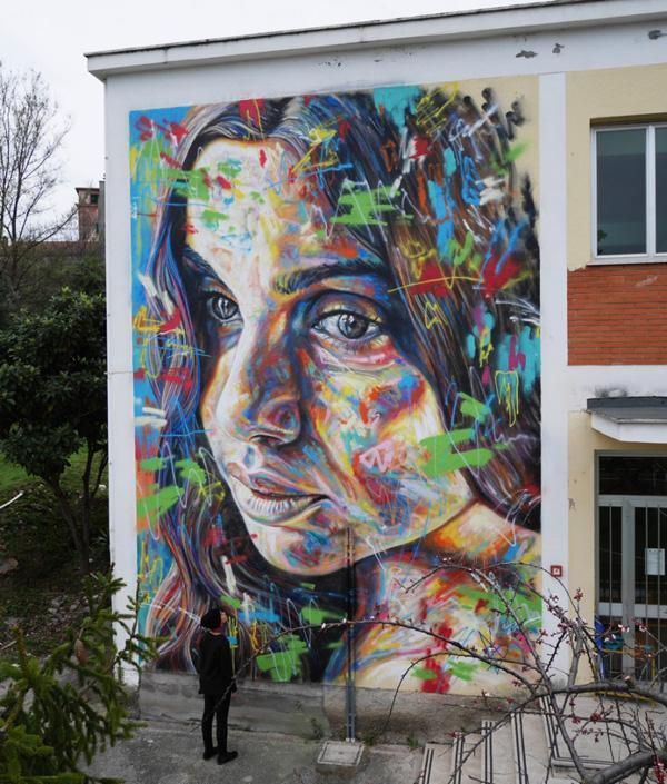 Davids piece for Memorie Urbane 2015 in Terracina, Italy