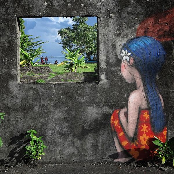 Living Canvas, Tahiti Nui