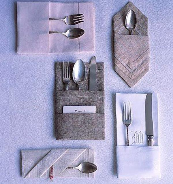 Napkin folding (MS)