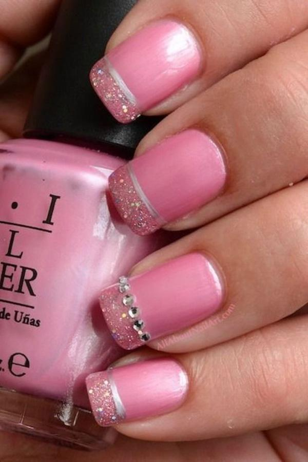 Pink Metallic Manicures