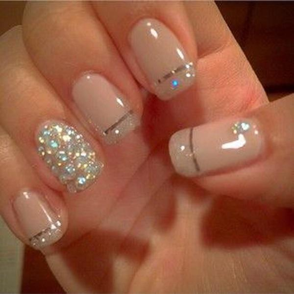 Pretty Metallic Manicures