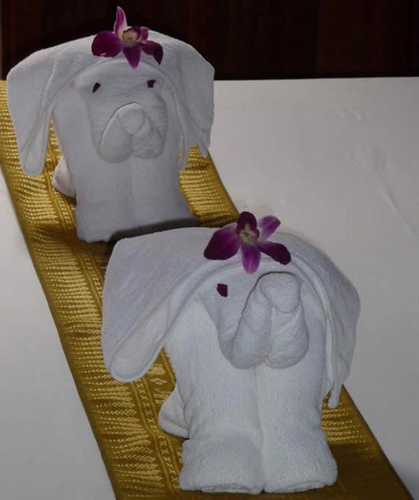 Towel Origami-3